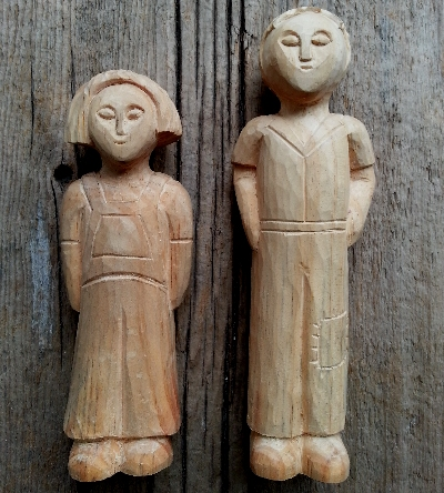 Deborah Mills Woodcarving Event, News and PressJem And Scout Soap Figures